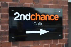 2nd Chance Cafe Sign